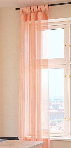 Záclona STORFOSNA 1x145x300 korálová