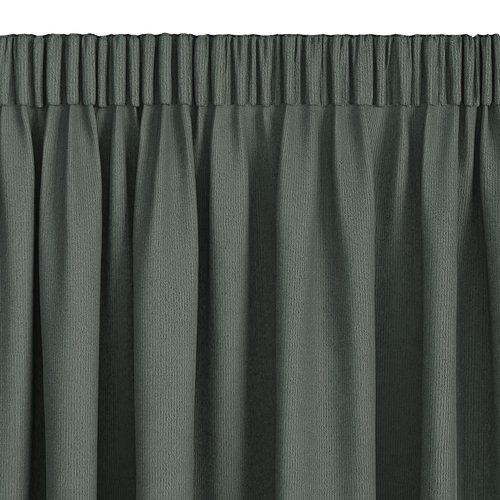 Gardin lystett ARA 1x140x300 grønn