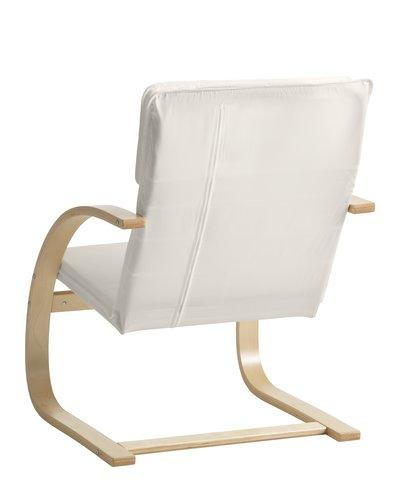 Fotelja TILST lakir. brez. natur