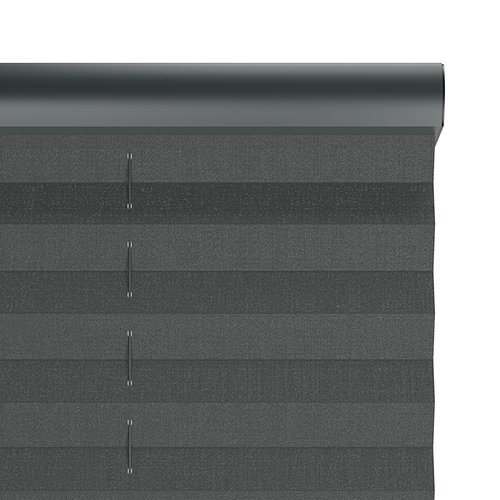 Plisségardin HOVDEN 80x160cm grå