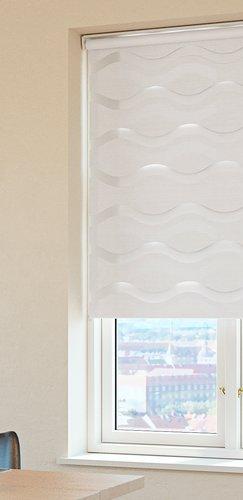 Doppelrollo EIKA 90x160 weiß