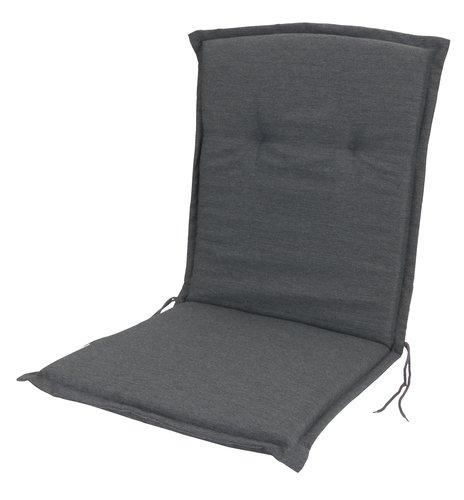 Садовая подушка GUDHJEM 51x100 т.-серый