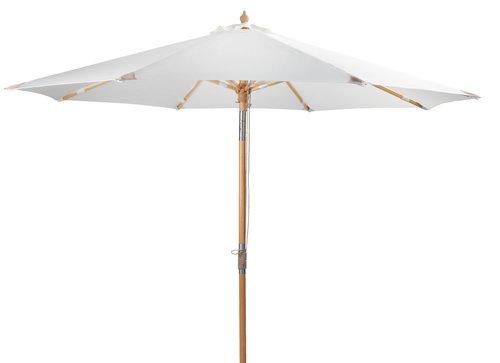 Зонт от солнца LEMVIG Ø300 см белый