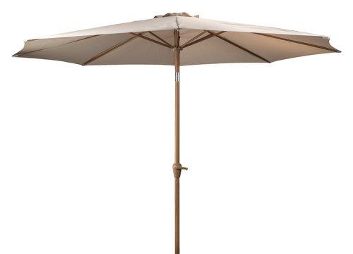 Parasol ogrodowy VARSLER Ś320 piaskowy