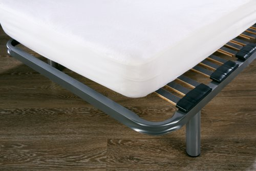 Drap-housse moll. imperm. 90x200x23cm b.