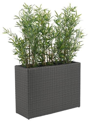 Plantekasse STOKKAND B30xL84xH60 grå