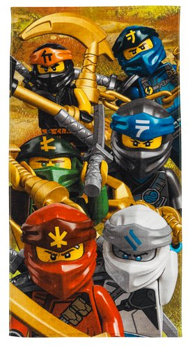 Badhanddoek LEGO NINJAGO 70x140