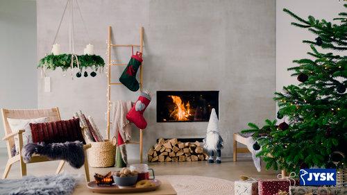 Charmerende og rustik julepynt