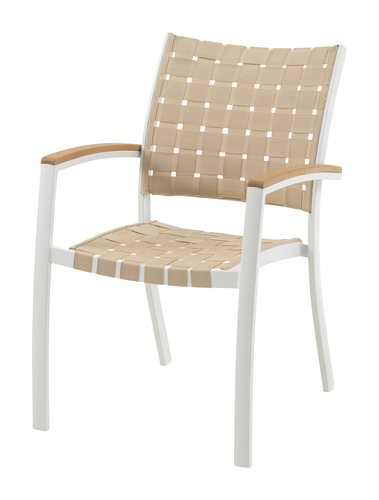 Stacking chair JEKSEN white