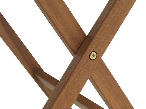 Parvekepöytä EGELUND L62xP62 kovapuu