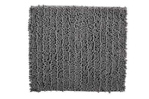 Badematte MICRO CHENILLE 45x50 hellgrau
