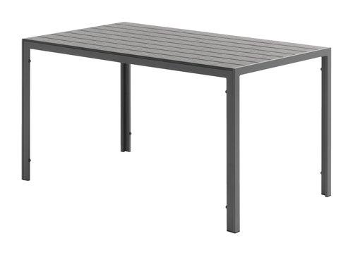 Tavolo JERSORE P80xL140 grigio