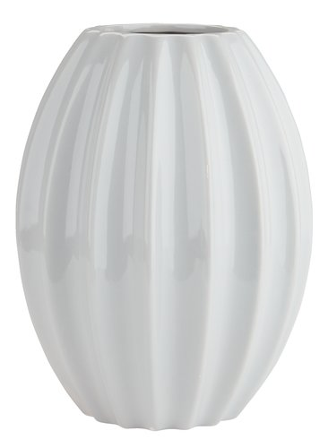 Vaso EVALD Ø17xA23cm cinzento