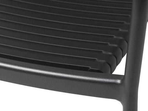 Bašt. stolica NABE crna/natur
