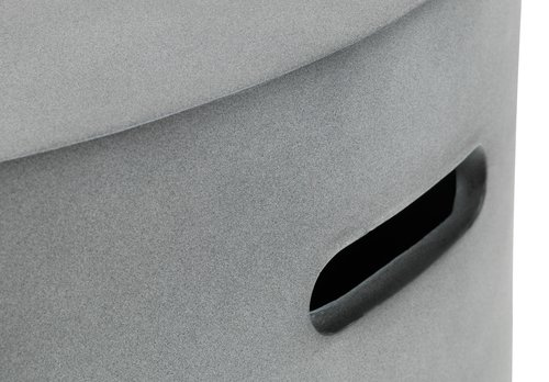Gasbålsted VARME Ø76xH30 grå