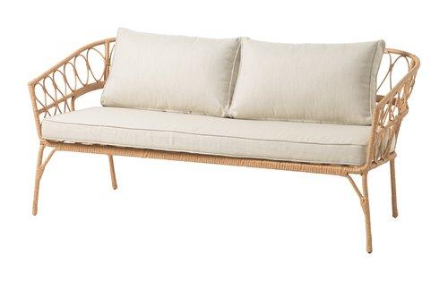 Canapé lounge JENNUM 2.5 pers. nature
