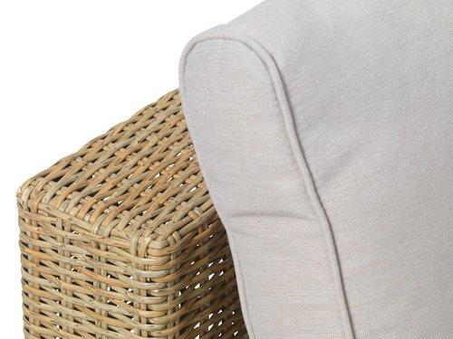 Lounge sjeselongmodul DALL natur