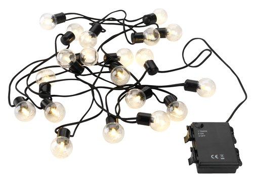 Φωτάκια GULIRISK 4m Μ/20 LED διάφανο