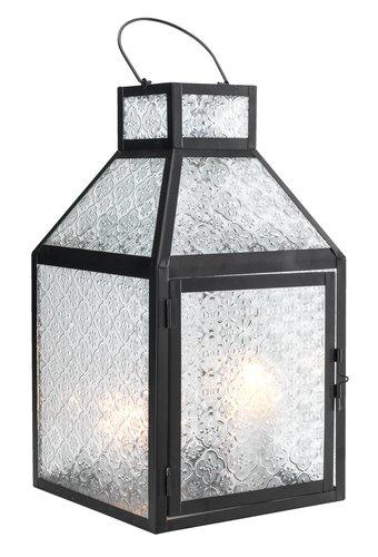 Lanterna HUMMER P22xL22xH40 nero