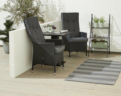 Pernă pentru scaun reglabil REBSENGE gri