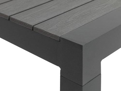 Tavolo MIAMI XXL P95xL205/275 grigio