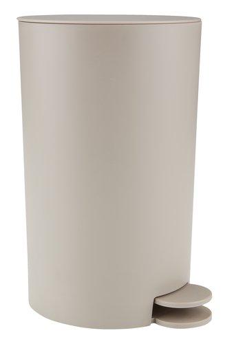 Odpadkový koš HAVERDAL 3L plast béžová