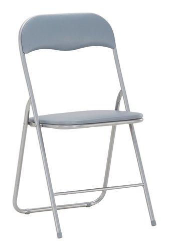 Chaise pliante VIG gris