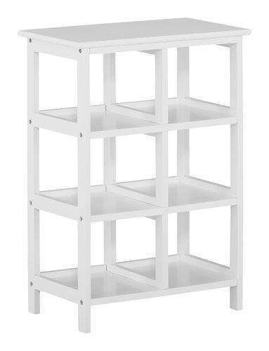Libreria JANA 6 ripiani bianco