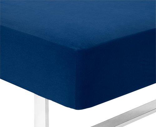 Jerseylaken 75x200x40cm blå