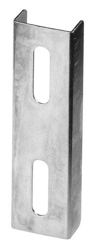 Koppelstuk v gordijnrail FIXI aluminium