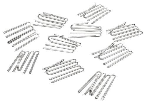 Metalhægter 4-finger t/decobånd 10stk