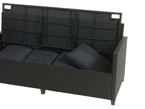 Set lounge ULLEHUSE 9 pers. contenitore