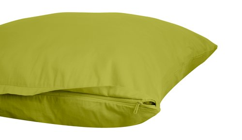 Federa raso 50x80 verde chiaro