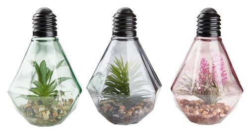 Kunstpflanze MICHAEL m/LED div.