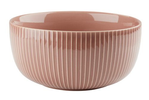 Kulho NIELS Ø20xK10cm roosa