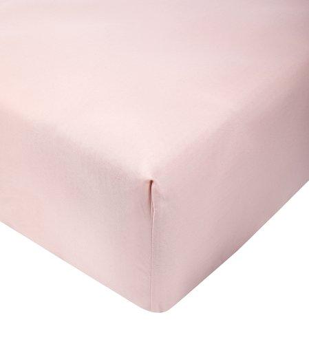 Lenzuolo con angoli 160x190x25cm rosa