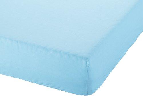Lenzuolo con angoli 180x200x25cm blu