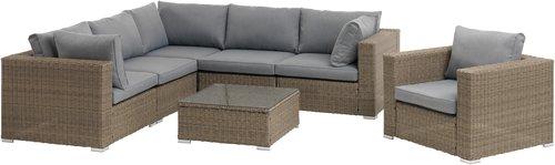 Комплект меблів DALL 6м сірий