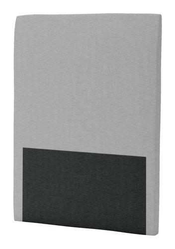 Sänggavel 90x125 H30 CURVE grå-27