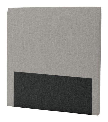 Hoofdbord 120x125 H30 rond grijs-21