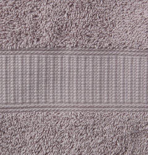 Telo da bagno KRONBORG DE LUXE grigio