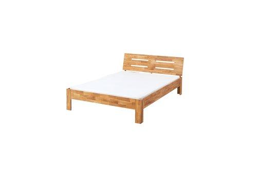 Estructura cama OLSKER 135x190 roble