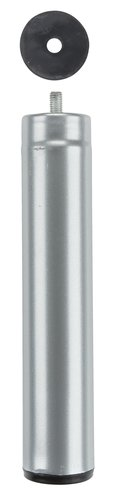 Pata Ø5xA25cm de metal 1 ud.