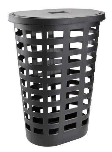 Laundry basket ANFRED W35xL48xH63cm ass.