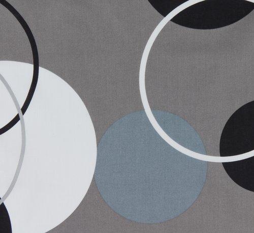 Påslakanset FREYDIS 150x210 grå/svart