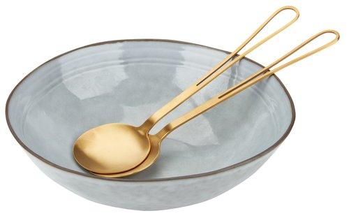Salátáskanál szett ASKE H24cm arany