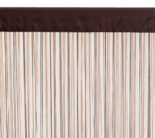 Končana zavesa NISSER 90x245 braon