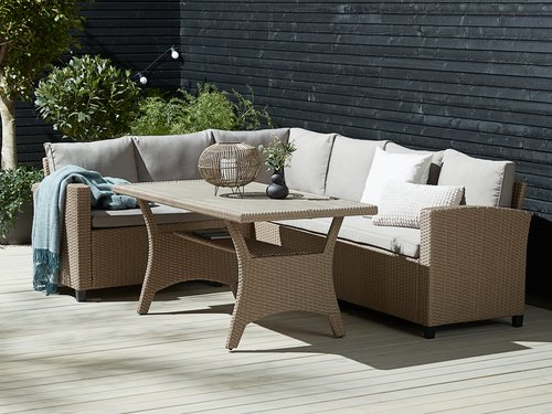 Комплект меблів ULLEHUSE 6м натура