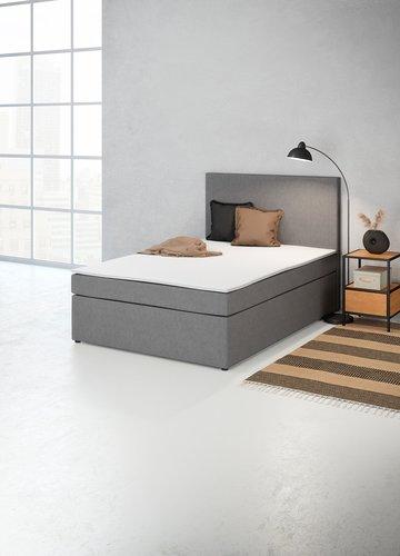 Łóżko kontyn. 140x200 PLUS C20 szary-33