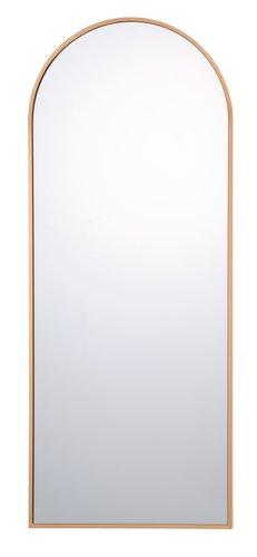 Καθρέφτης NORS 40x100 χρυσό